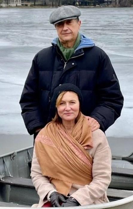 Елена Шевченко и Борис Палант. / Фото: www.instagram.com