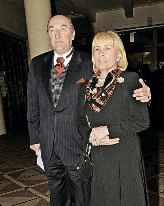 Борис Клюев с любимой женой. / Фото: www.yandex.net