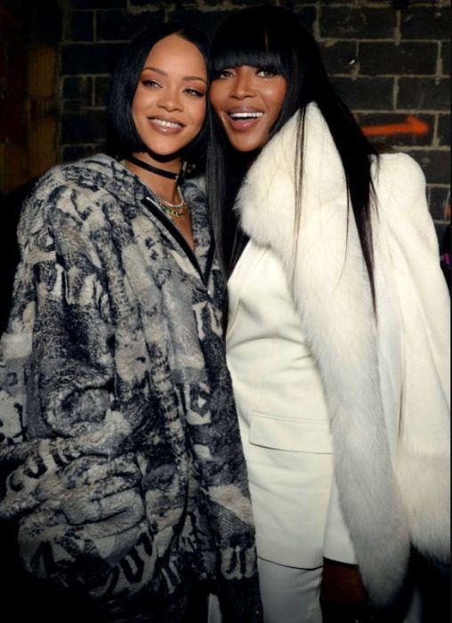 Рианна и Наоми Кэмпбелл. / Фото: www.weheartit.com