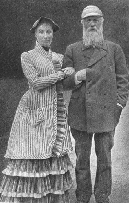 Григорий Александрович Пушкин с супругой. / Фото: www.literature-edu.ru