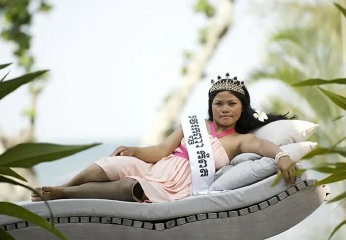 Участница конкурса Miss Landmine. / Фото: www.obozrevatel.com