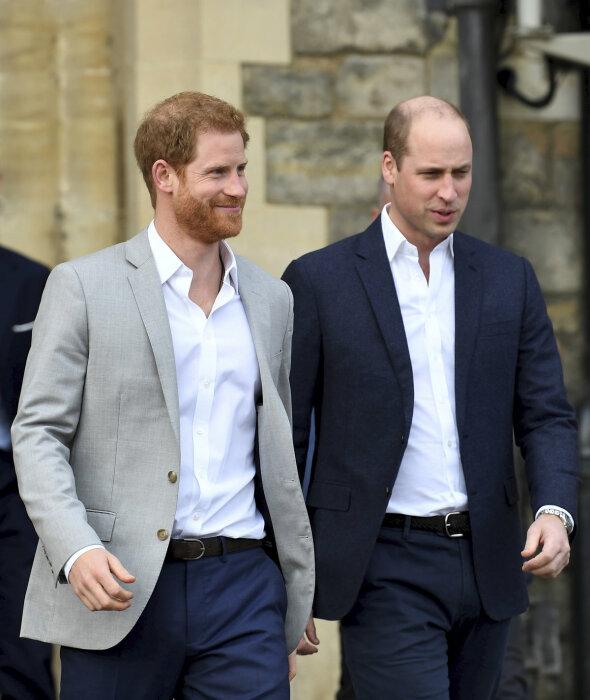 Принц Уильям и принц Гарри. / Фото: www.cncenter.cz