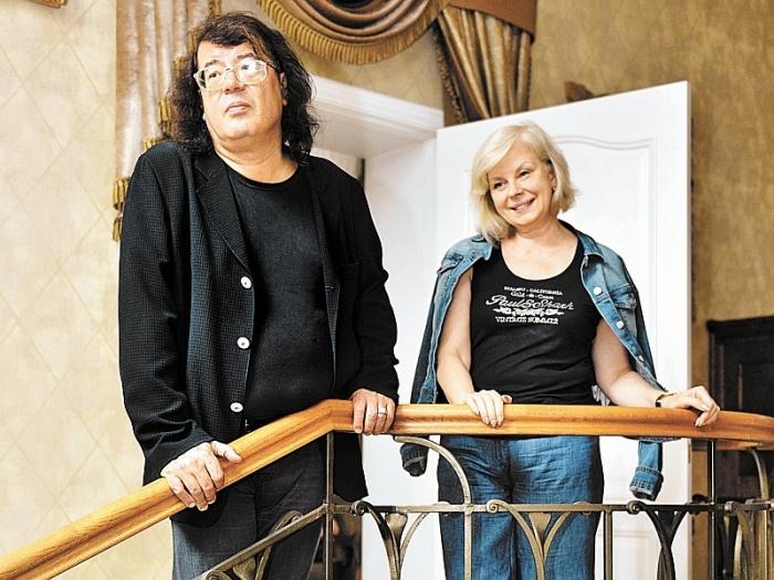 Игорь и Марина Корнелюк. / Фото: www.sobesednik.ru