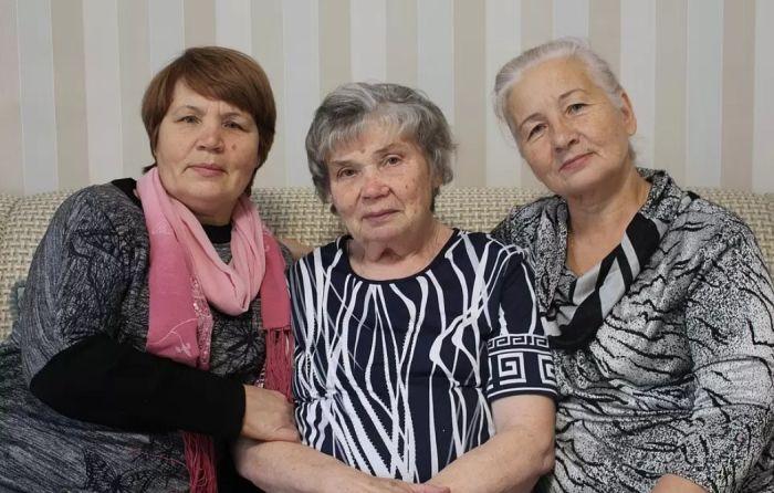 Предполагаемые сёстры Нины Руслановой Юлианна, Нина и Людмила. / Фото: www.kp.ua