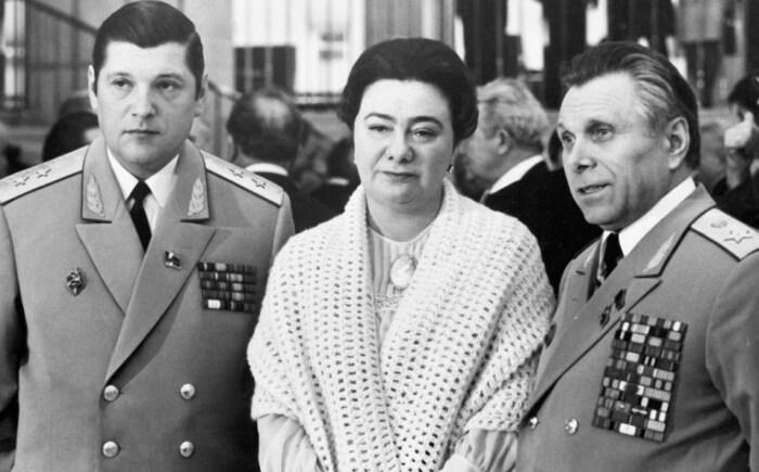 Юрий Чурбанов, Галина Брежнева и Николай Щёлоков. / Фото: www.trust-women.ru