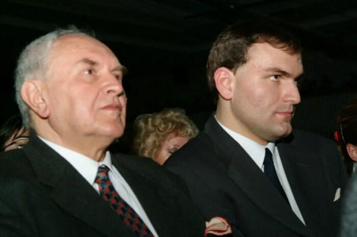Отец и сын Тухольские. / Фото: www.yandex.net