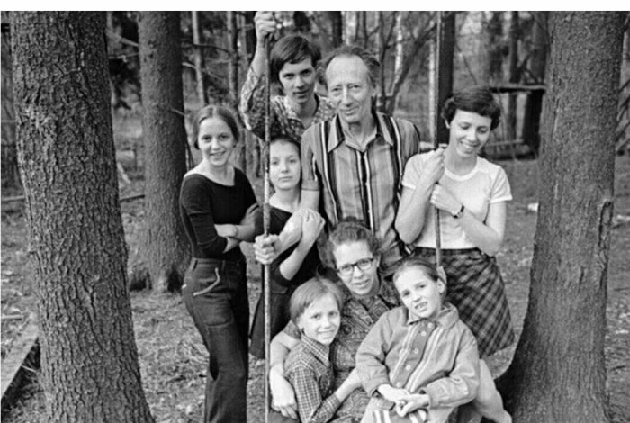 Семья Никитиных.  / Фото: www.russkievesti.ru