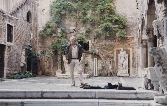 Иосиф Бродский в Венеции. / Фото: www.novymirjournal.ru