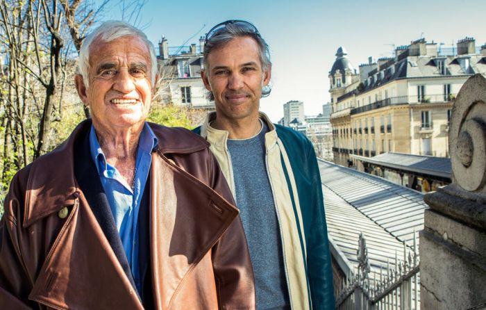 Жан-Поль Бельмондо с сыном Полем, названным в честь отца актёра. / Фото: www.bollicinevip.com