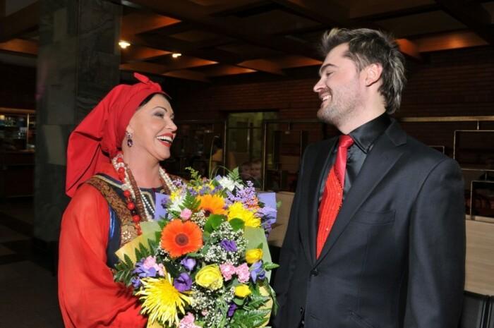 Евгений Гор и Надежда Бабкина. / Фото: www.ya-zhenschina.com