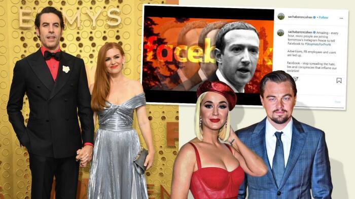 Знаменитости хотят остановить ненависть и насилие, распространяемые в социальных сетях. / Фото: www.thetimes.co.uk