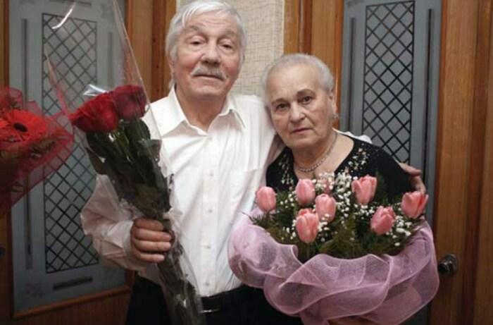 Михай Волонтир с женой в день своего 80-летия  / Фото: www.newdaynews.ru