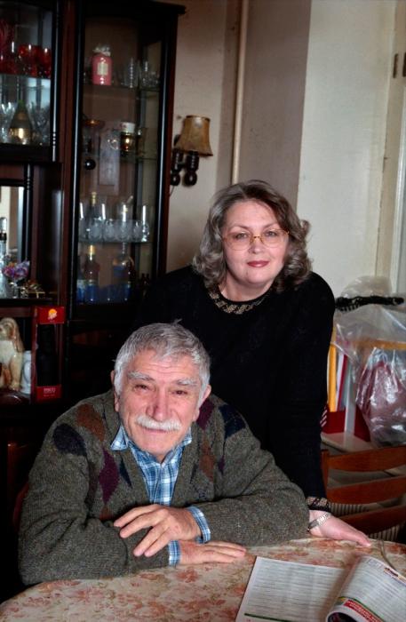 Армен Джигарханян и Татьяна Власова. / Фото: www.wp.com