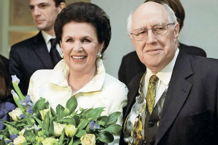 Галина Вишневская и Мстислав Ростропович. / Фото: www.tvcenter.ru