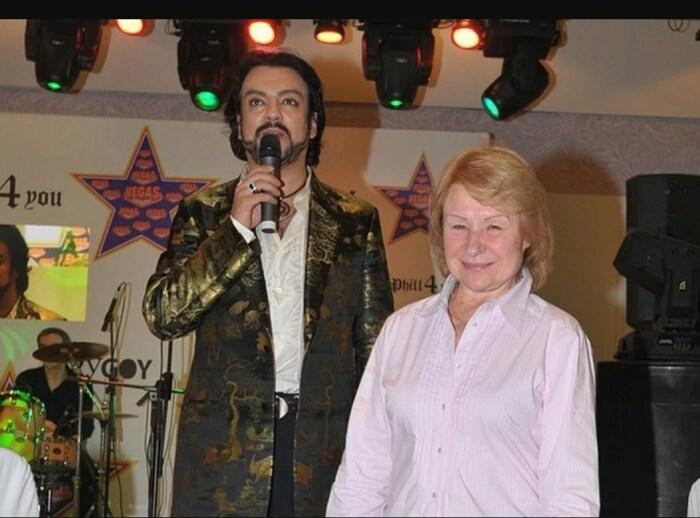 Филипп Киркоров и Людмила Дороднова. / Фото: www.kpcdn.net