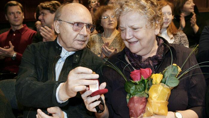 Андрей Мягков и Анастасия Вознесенская. / Фото: www.24smi.org