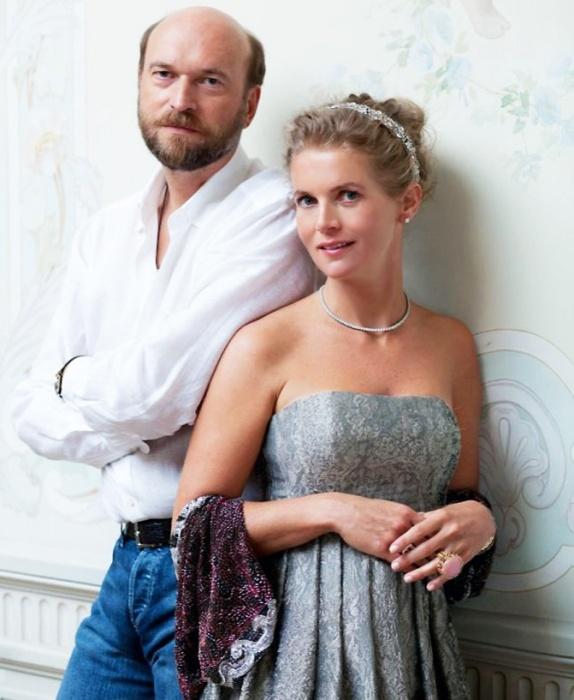 Александра Толстая и Сергей Пугачёв. / Фото: www.fotkaew.ru