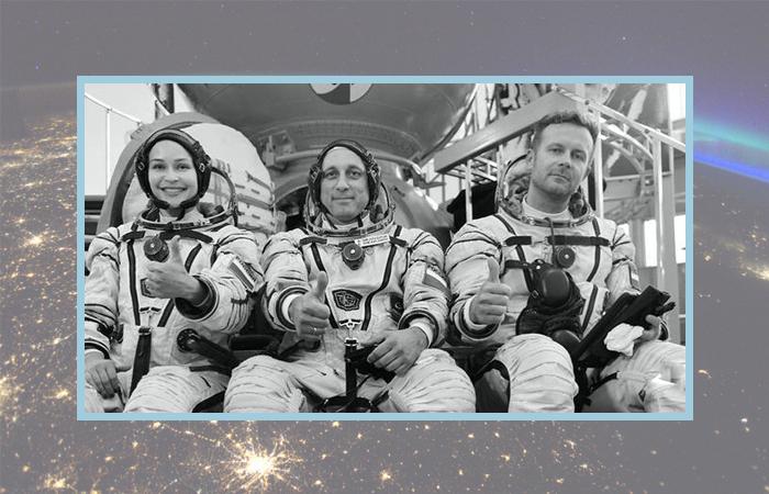 Юлия Пересильд, Антон Шкаплеров и Клим Шипенко во время тренировок.