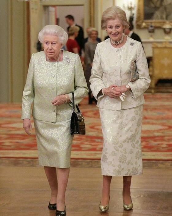 Принцесса Александра и Елизавета II. / Фото: www.joinfo.com