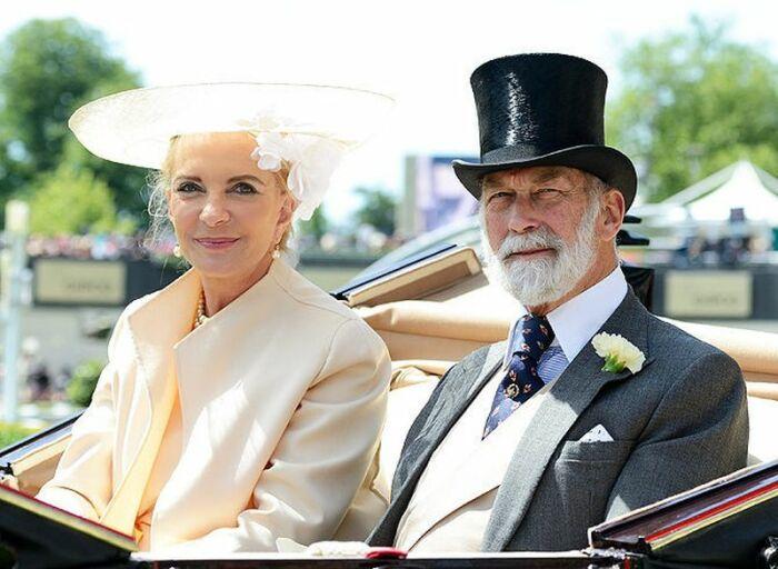 Принц и принцесса Майкл Кентские. / Фото: www.tatler.ru