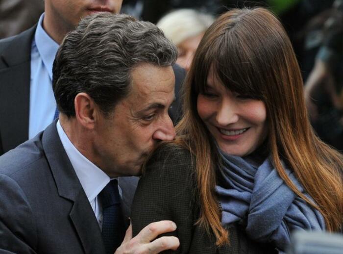 Николя Саркози и Карла Бруни. / Фото: www.lyonmag.com