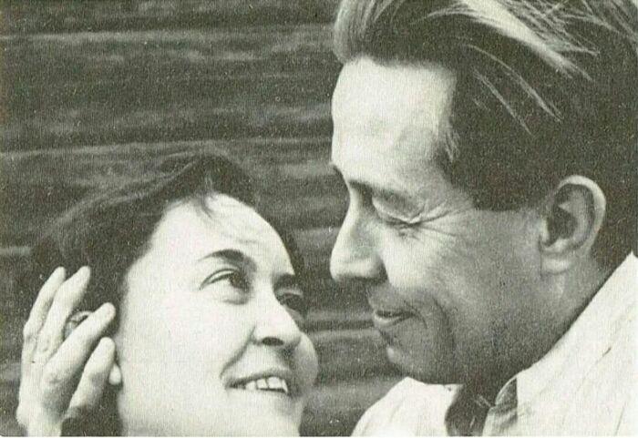 Александр Солженицын и Наталья Решетовская. / Фото: www.just-interes.ru