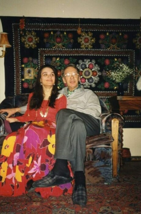Алексей Баталов с дочерью. / Фото: www.mt.ru