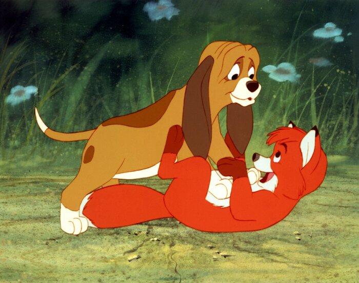 Кадр из мультфильма «Лис и пес». / Фото: www.kinopoisk.ru