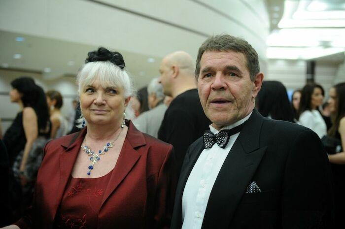 Алексей Булдаков с женой Людмилой. / Фото: www.starhit.ru