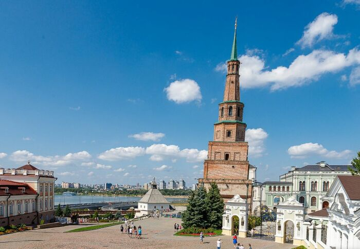 Башня Сююмбике в Казани. / Фото: www.fotokto.ru