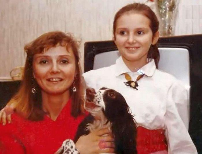Екатерина Зинченко с дочерью. / Фото: www.russia.tv
