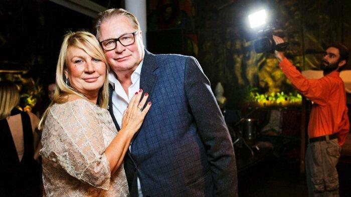 Валентин Смирнитский и Лидия Рябцева. / Фото: www.1tv.ru