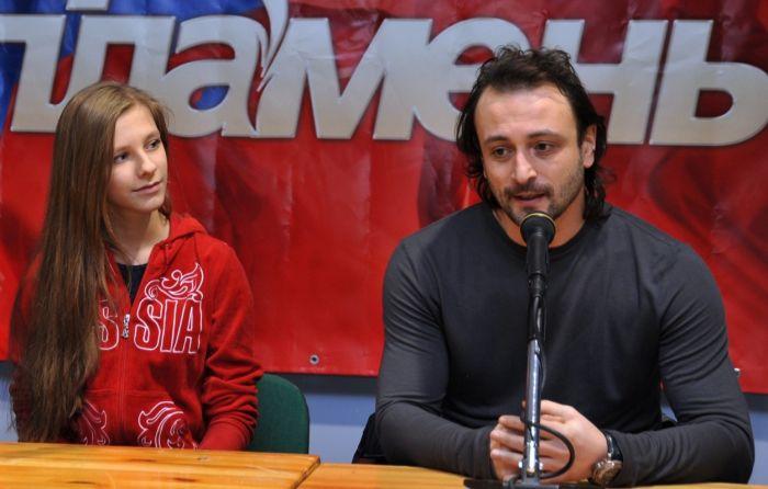 Илья Авербух и Елизавета Арзамасова. / Фото: www.storinka.com.ua
