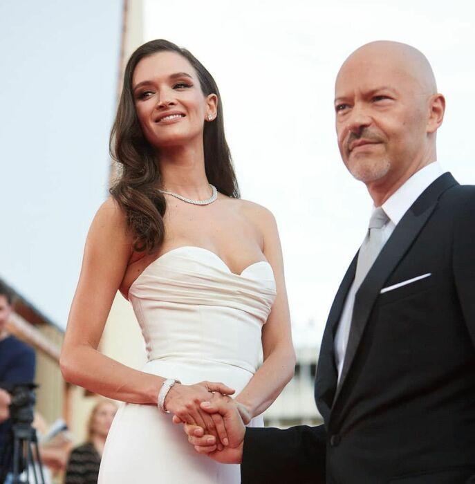 Фёдор Бондарчук и Паулина Андреева. / Фото: www.instyle.ru