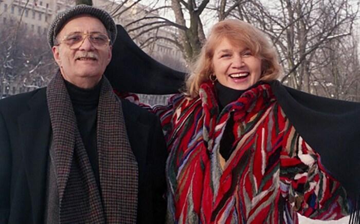 Галина и Георгий Данелия. / Фото: www.blogspot.com
