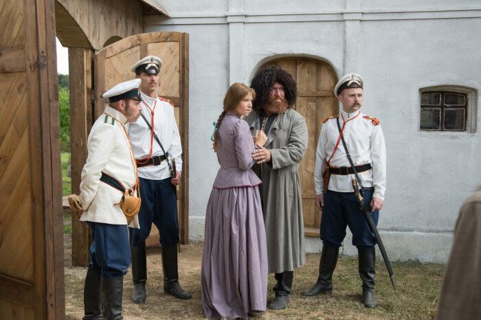 Кадр из сериала «Угрюм-река». / Фото: www.kino-teatr.ru