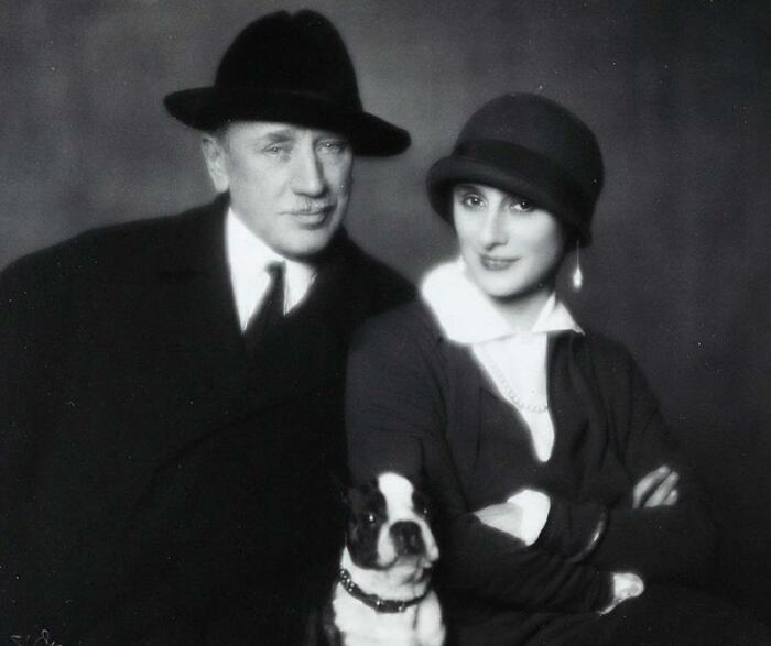 Анна Павлова и Виктор Дандре. / Фото: www.yandex.net