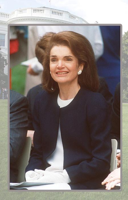 Жаклин Кеннеди-Онассис.