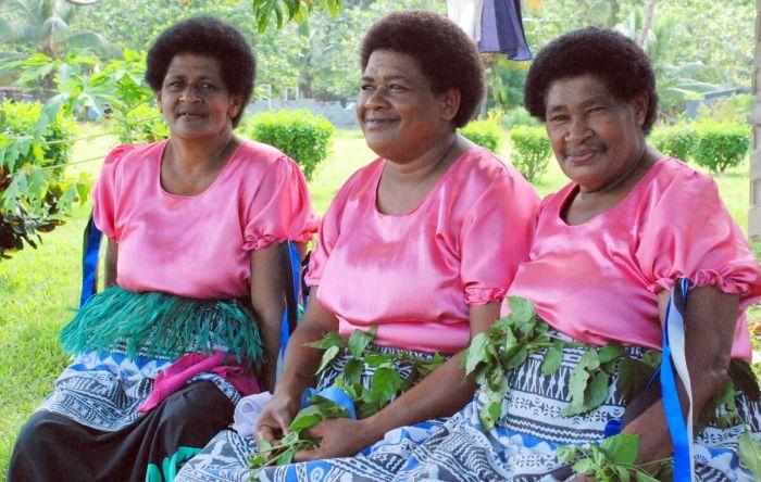 Женщины Фиджи. / Фото: www.tourister.ru