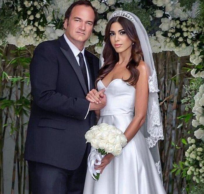 Квентин Тарантино и Даниэла Пик. / Фото: www.24tv.ua