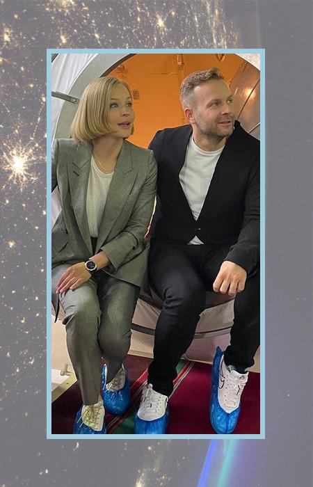Юлия Пересильд и Клим Шипенко.