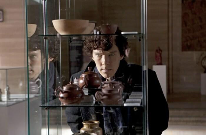 Кадр из сериала «Шерлок» . / Фото: www.kinopoisk.ru