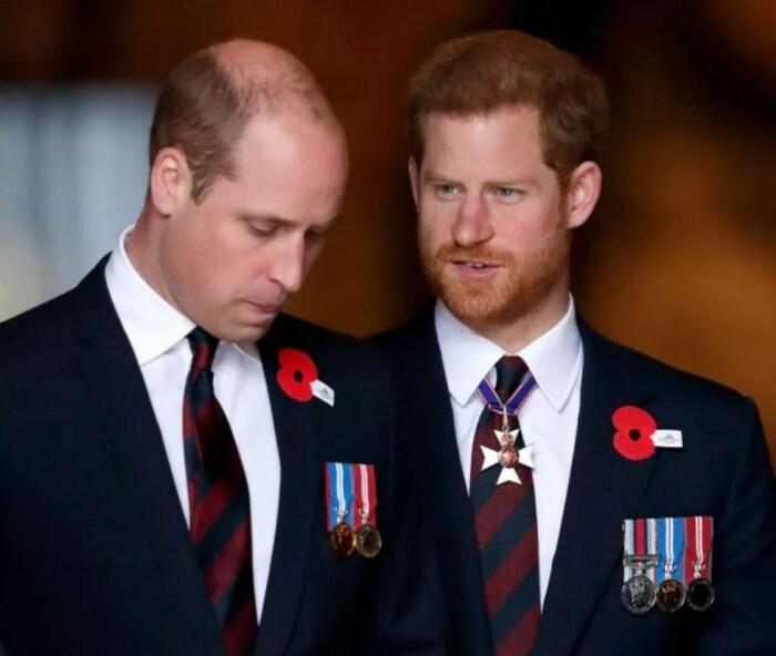 Принц Уильям и принц Гарри. / Фото: www.newsweek.com
