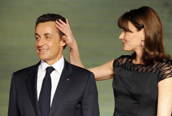 Николя Саркози и Карла Бруни. / Фото: www.bz-berlin.de