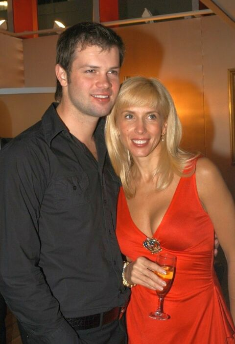 Алёна Свиридова и Дмитрий Мирошниченко. / Фото: www.wp.com