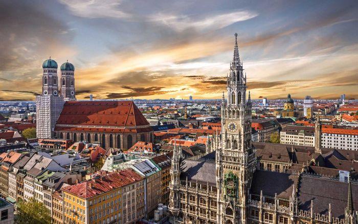 Германия, Мюнхен. / Фото: www.mattil.de