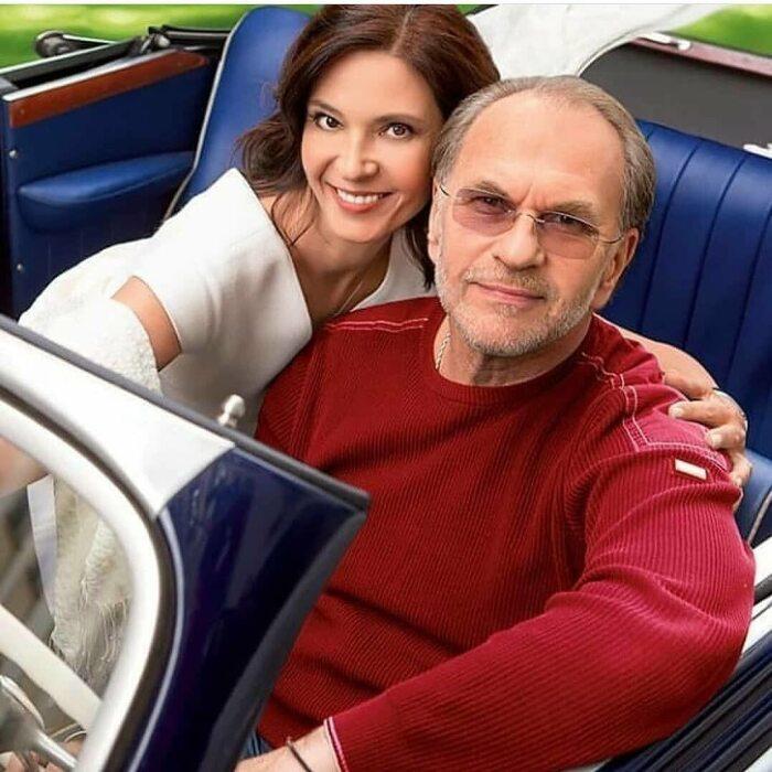Алексей Гуськов и Лидия Вележева. / Фото: www.privately.ru
