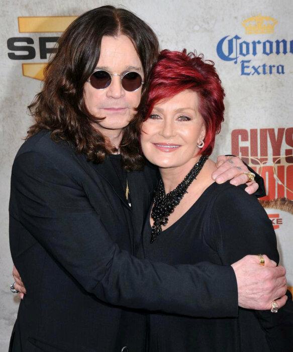 Шерон и Оззи Осборн. / Фото: www.star.korupciya.com