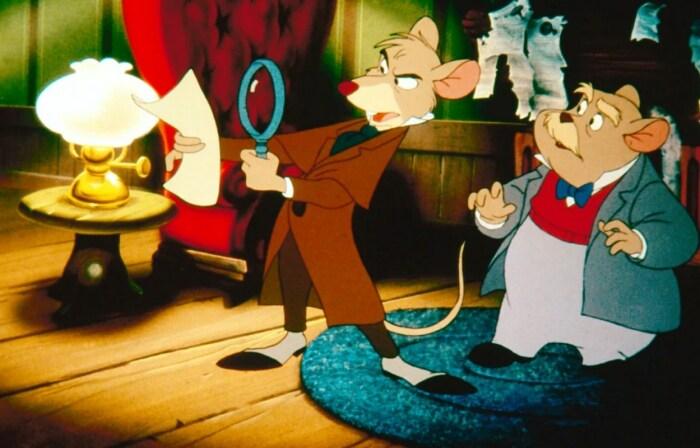 Кадр из мультфильма «Великий мышиный сыщик». / Фото: www.kinopoisk.ru