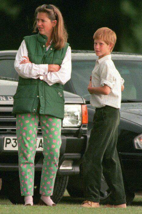 Александра «Тигги» Легге-Бурк и принц Гарри. / Фото: www.meredithcorp.io